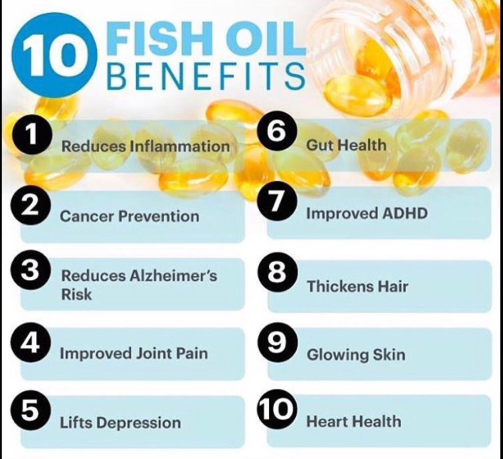 fish oil for fitness and health