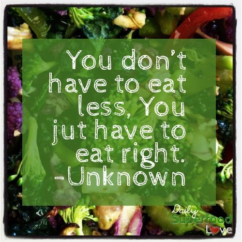 changing how you eat