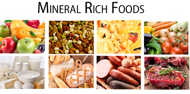 mineral rich foods
